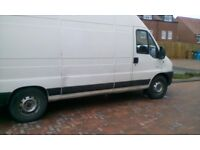 Relay van deliveries removals and clearance