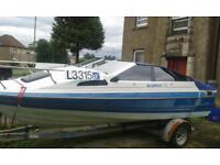 Bayliner cuddy speedboat