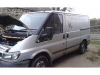 Ford Transit Van Spares or repair