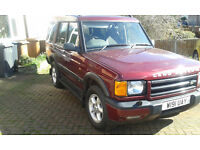 Landrover Discovery TD5 seven seater 4x4 2000 Diesel