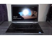 "Dell Latitude E6530 i5-3320M 2.60GHz 15.6"" 3GB 250GB Win 10 Pro, Used"