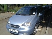 2006 Chevrolet Tacuma 2.0 CDX blue grey BREAKING FOR SPARES