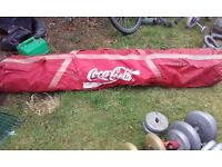 2 x football goal posts for sale