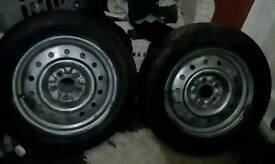 Transit 5 stud wheels