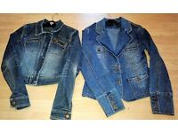 2 x Gorgeous Jane Norman Denim Jackets in size 10 (ex con)