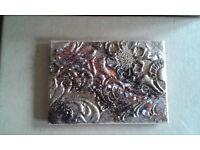 Fridge or office magnets created using heat enamelling on MDF