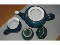 Denby cups and saucers etc