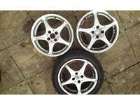 3 alloy wheels Integral-A2 / R16