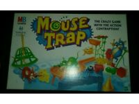 Vintage 1999 Mouse Trap Board Game