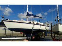 WESTERLY OCEANRANGER 38' SAILING CRUISER, LOVELY £59950