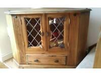 TV cabinet corner unit