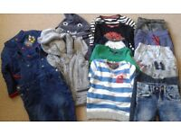 BOY CLOTHES 18-24 MONTHS--more than on the photos