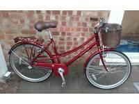 Dutch style town bike