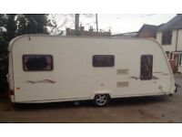 Avondale golden eagle 2006 4 berth caravan with fixed bed motor mover + new awning