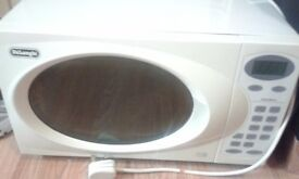 DeLonghi White Microwave
