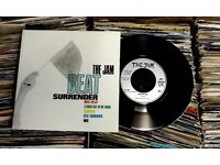 The Jam ‎– Beat Surrender, VG, gatefold sleeve with double records, released on Polydor ‎in 1982.