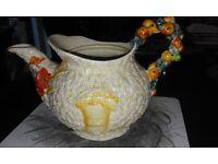 Clarice Cliff Teapot - Celtic Harvest Design