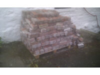 Pallet of approx. 360 D I Co Bricks Reclaimed Used