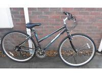 Ladies Raleigh Alana Hybrid City Commuter Bike Bicycle