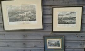 Vintage prints of Cornish views