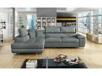 NEW ARTON LEATHER STORAGE,Ottoman sofa bed AND Universal Corner Sofa SOFA BED