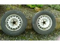 16inch wheels & snow tyres