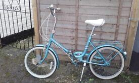 "Vintage ""Hurcules"" folding bike in good used condition"