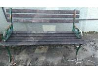 2 seater 4 ft garden bench restoration project?