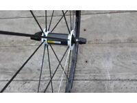 Mavic ksyrium SL 700c bike wheels pair VGC