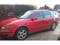 SEAT Toledo 2000 1.8 20v MOT till July 2017 Good solid reliable running car