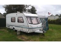 For Sale 2001 Abbey Safari 520 4 Berth Touring Caravan and Awning
