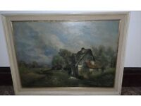 nice large oil painting
