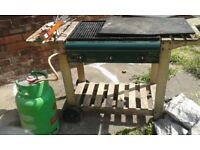 Free gas barbecue, needs a bit of clean., pick up from Redcar 21 July