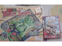 Alvin &the chipmunks road chip and monster surgery game