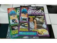 """NO TEXTS PLEASE.""""REAL ROBOTS"""" MAGAZINES. ISSUES 28 & 29 £3 each or £5 for both ."""
