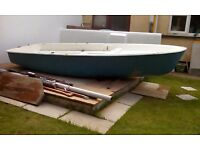 Small Sailing GRP Boat For Sale
