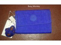 ~ Brand New ~ Kipling Pixi Wallet ~ Sapphire ~ £30 ~