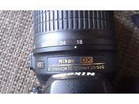NIKON D60 perfect condition af-s Nikkor 18-56mm
