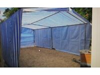 Large Tent Extra Strong Galvanised