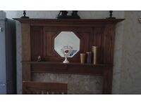 Fire Surround and Fixtures