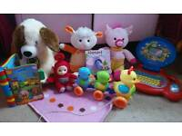 A variety bunddle of toys