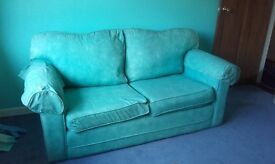 Aqua sofa bed