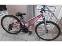 appolo vivid girls bike pink been used 4 times excellent condition great for first bike