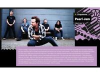 2 tickets for Pearl Jam, Foo fighters and many more at Pinkpop festival in Holland