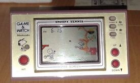 Nintendo Game & Watch Snoopy Tennis