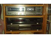 stack system radio, cd,tape