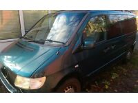 Mercedes V230 V Class Vito Auto People Carrier Spares or Repair