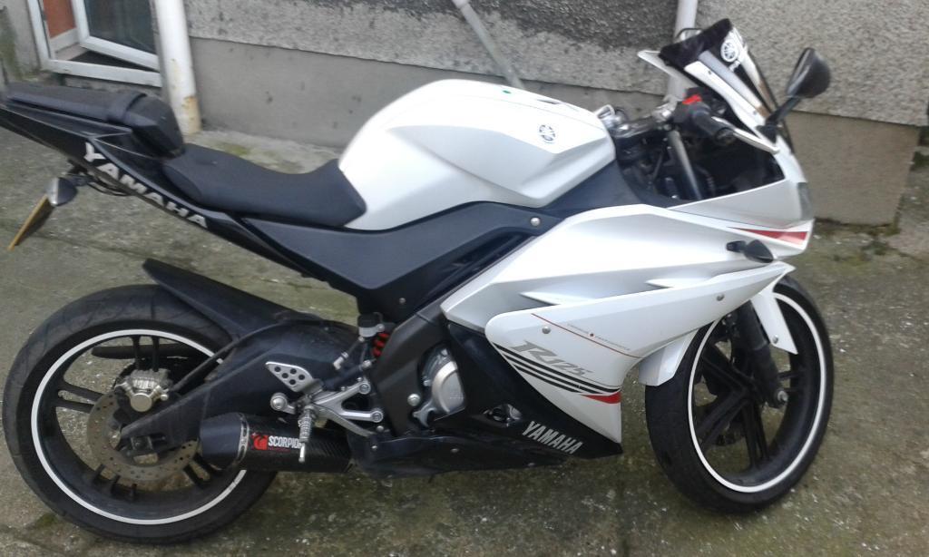 Yamaha Yzf R125 2012 Yamaha Yzf R125 2012 With