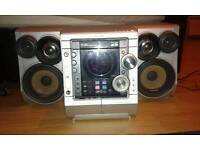 Samsung max zj650 hi fi stereo system