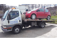 Vehicle transport, recovery, breakdown, flatbed haulage, cars, small vans, plus man and van service